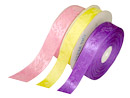 Jacquard Solid Color Ribbon