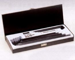 Chiave Hex extra-lunga fissata (scatola di colore)