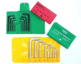 Chave da chave Hex ajustada (pacote da carteira)