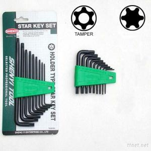 SY 16  L Type Star Key Set