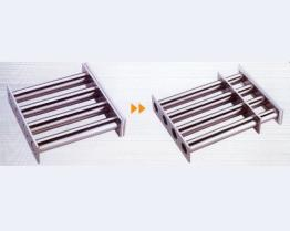 Easy-Cleaning Magnetic Grate