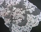 Embroidery Allover With Beading (For Bridal)