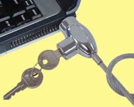 노트북 컴퓨터 열쇠 자물쇠