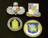 badges / pins