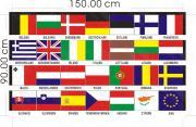 Флаг 28 стран EU