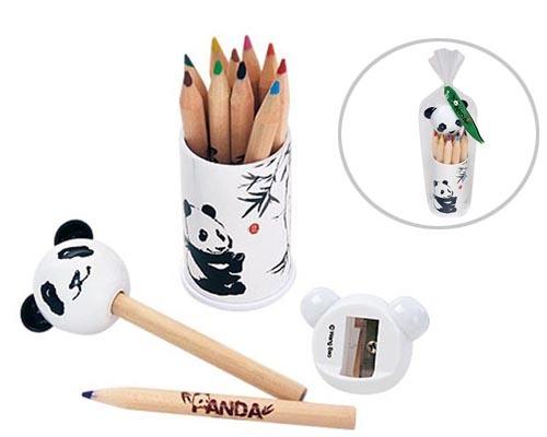Color Pencil + Sharpener Set
