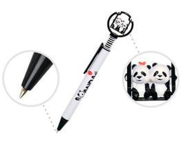 Pluma de bola con la figura de la panda