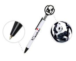 パンダ図が付いているボールペン