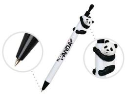 Penne di Ball-Point con le figure del panda