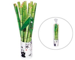 Bamboo Look Pencil Set