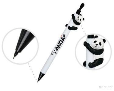 Mechanical Pencil With Panda Figure