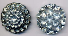 Rhinestone Button