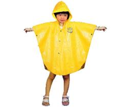 子供雨ポンチョ