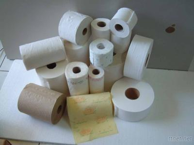 Toilet Tissue Roll, Kitchen Towel Roll Whole Plant Line