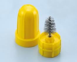 Plastic Case Battery Brush