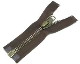 No.10 Antique Brass zipper o/e a/l
