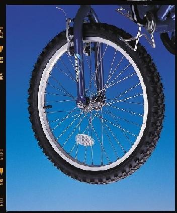 Fahrrad-Gummireifen Sicherheits-Reflektor