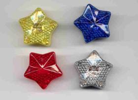 Glücklicher Stern-Blinkenlicht