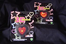 BlinkenlichtPin des Herz-3D