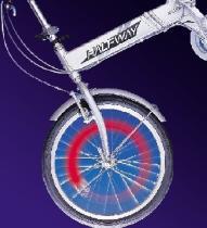 Fahrrad-Gummireifen Sicherheits-reflektierendes Licht