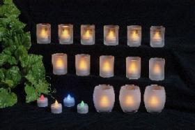 LED-Kerze-Licht