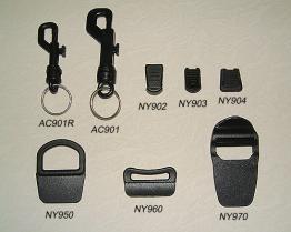 Schlüsselring-u. Reißverschluss-Zug u. Sewable Schleife