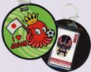 I O Japan Embroidered Luggage Tags (Bus Pass Or Stored Value Card Holder)