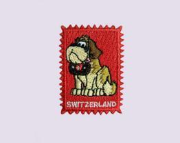 100% 베리 개에 의하여 수를 놓는 우표 스티커