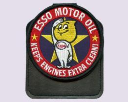 Esso 포켓에 의하여 수를 놓는 기장 (W/Magnet)