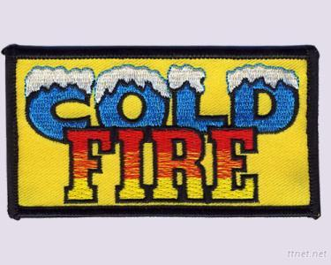 Cold Fire Embroidery Patches