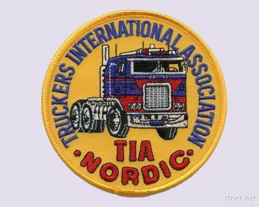 Embroidery Patches Of Truckers International Association