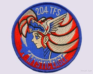 204TFS Mystic Eagle Cartoon Embroidery Patches