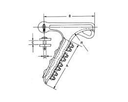Aluminiumbelastungs-Klemmplatte für Getriebe-Linie