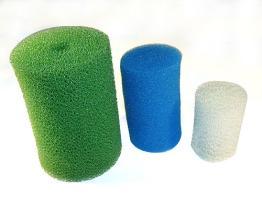 De spons van de filter