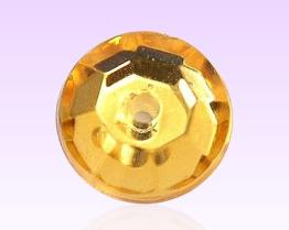 Round Acrylic Stone With 1 Hole