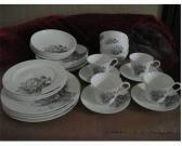 TEA CUP,BOWL N PLATE SET.