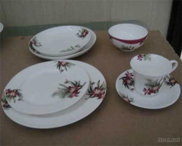 TEA CUP,BOWL N PLATE SET.
