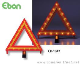 Opvlammende Lichte Waarschuwing driehoek-citizens band-1847