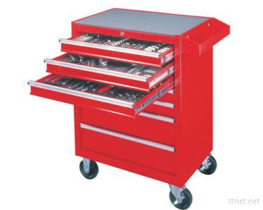 7 Drawer Roll Cabinet With 217 Pcs Tools