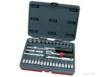 36 Pcs 1/4-Inch Dr. Socket Wrench Set