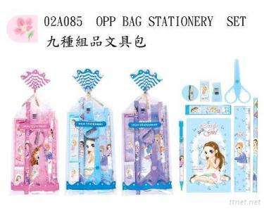 Opp Bag Stationery Set