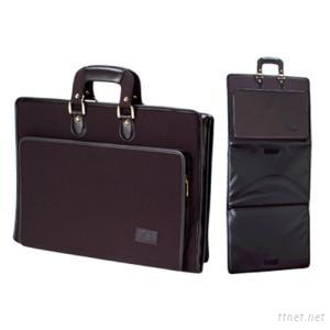 Anti-bullet Extendable Briefcase, Made of Cordura/Leather