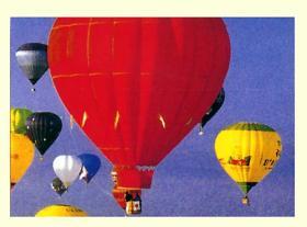 Flying Media & Balloon