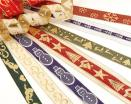Xmas Jacquard Ribbons (Christmas Ribbons)
