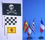 handflag and desk flag