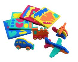 Regalos promocionales - el mini Puzzles/3D rompecabezas de la espuma de 3D/la espuma educativa juega