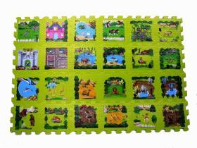 열전달 놀이 매트, 수수께끼 매트, 거품 수수께끼, 교육 장난감, 지면 매트