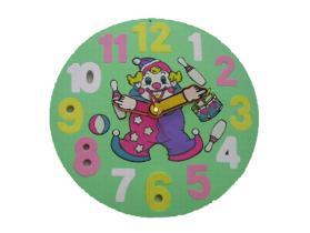 Reloj de la espuma de EVA/juguete educativo de la espuma