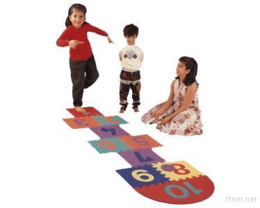EVA Foam Hopscotch, EVA Foam Mat, EVA Puzzle Mat