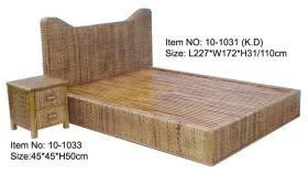 대나무 침대